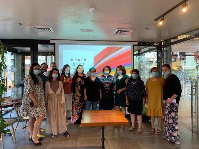 מועצת נשים עם סגנית ראש העיר