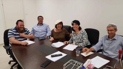 הסדקים בקואליציה מתרחבים - הבית היהודי מתאחד בקבוצת חברי מועצת העיר