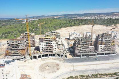 התחלות הבנייה בבית שמש ירדו ב-19% בשנת 2019