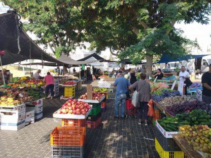 השוק חוזר מחר- האם העירייה תעניק מחווה לרוכלים?