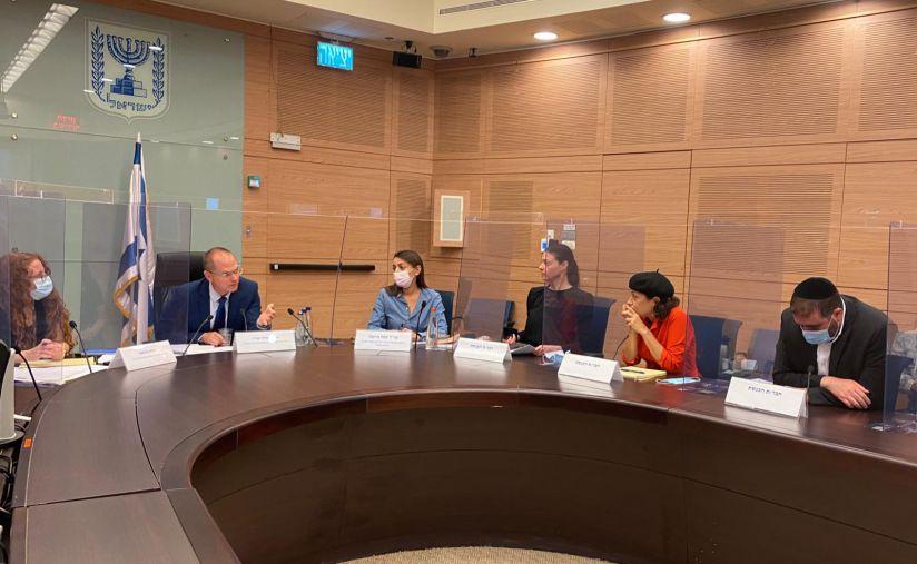 ישיבת הוועדה למעמד קידום האישה