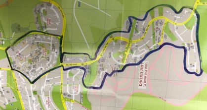 מפת הסגר אינה כוללת שתי שכונות קרית בעלזא וממזרח שמש