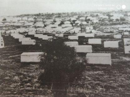 בית שמש נוסדה בחודש יולי, ראשוני המתיישבים הגיעו בדצמבר 1950