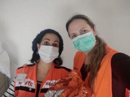 לידה מוצלחת בבית בעזרת מתנדבות איחוד והצלה