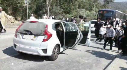 שני חשודים עצורים בהתקפה הקשה על רכב קצין צהל בעיר