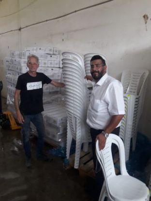 העירייה סייעה לגבאי בתי הכנסת להיערך לתפילות בקפסולות