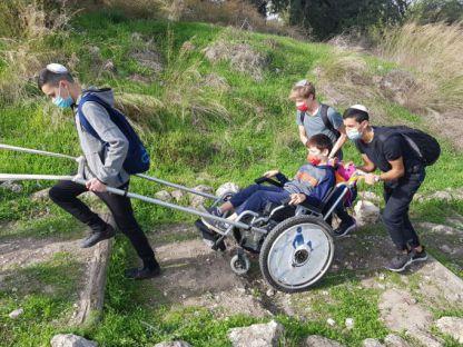 ערבות הדדית: צולחים את הטיול עם כסא גלגלים