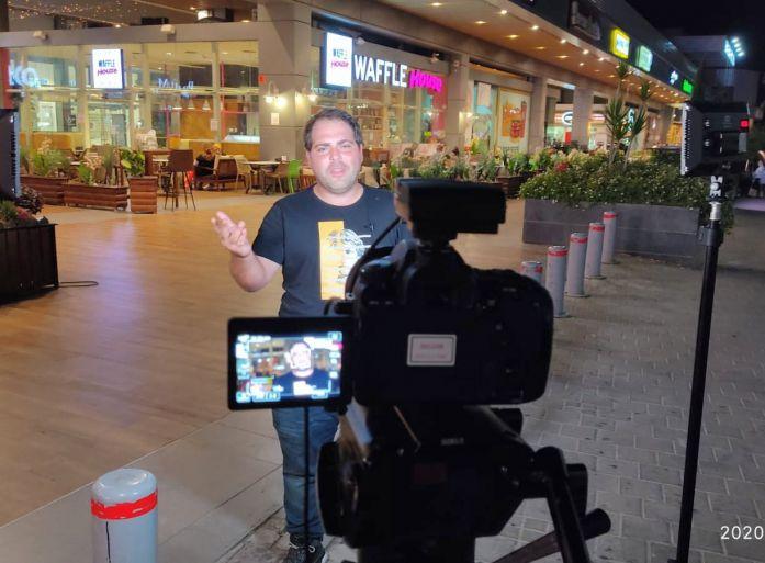 מתארגן לעוד סרטון ישראל אבוקסיס