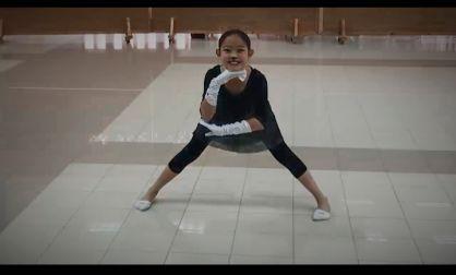 ילדה מבית שמש זוכה במקום הראשון בתחרות לבאלט