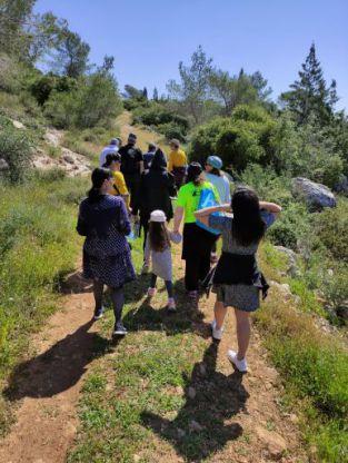 עם ישראל בוחר באיזור בית שמש כאיזור יעד לטיולי טבע