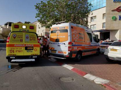 בן 5 איבד את ההכרה ברכב בבית שמש - מצבו אנוש