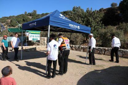 פעילות מונעת: 'עזרת אחים' במסע הסברה בחופשת בין הזמנים