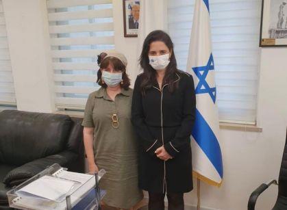 ראשי הבית היהודי בפגישה עם חברי הועדה המוניציפאלית