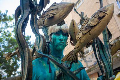 אמנים וכליזמרים ברחובות ואירועים בטבע העירוני