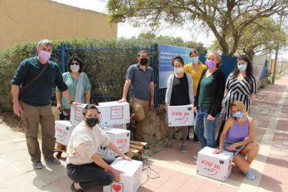 """קמחא דפסחא- קק""""ל תחלק כ-1800 סלי מזון לאוכלוסיות רווחה לכבוד חג הפסח"""