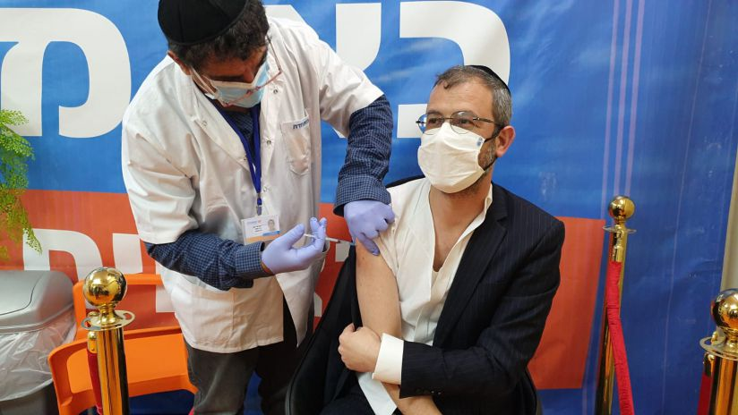 יוסי גולדהירש בחיסון