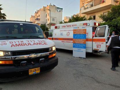 פיצוץ בגזיה גרם לפציעת בת 12