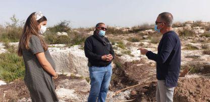העירייה: העבודות באתר הקמת הקאנטרי בנווה שמיר בעיצומן