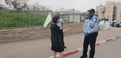 """בלוך: """"מגנה את מפירי החוק ומחזקת את ידי כוחות הביטחון ומשטרת ישראל"""""""