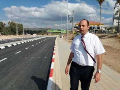 מחר ייפתח מעגל התנועה בכניסה לעיר