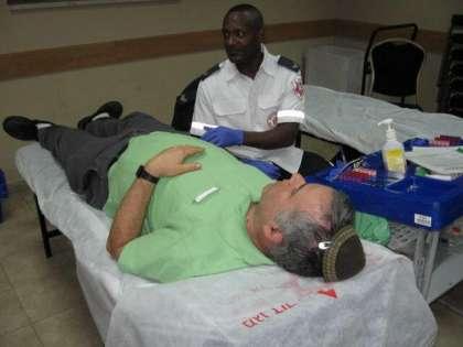 מבצע התרמת דם בבית שמש