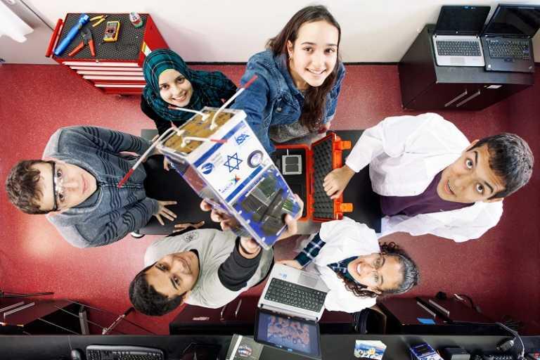 תלמידים מפרוייקט דוכיפת רועי גרינברג משרד המדע