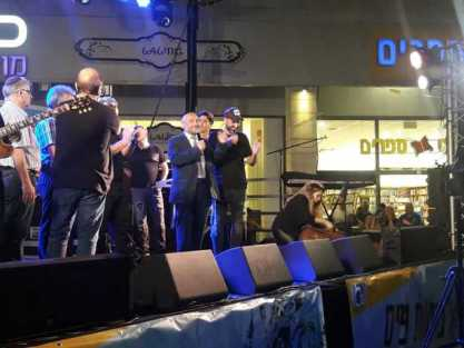 אבוטבול הותקף באירוע ציבורי בקניון נעימי