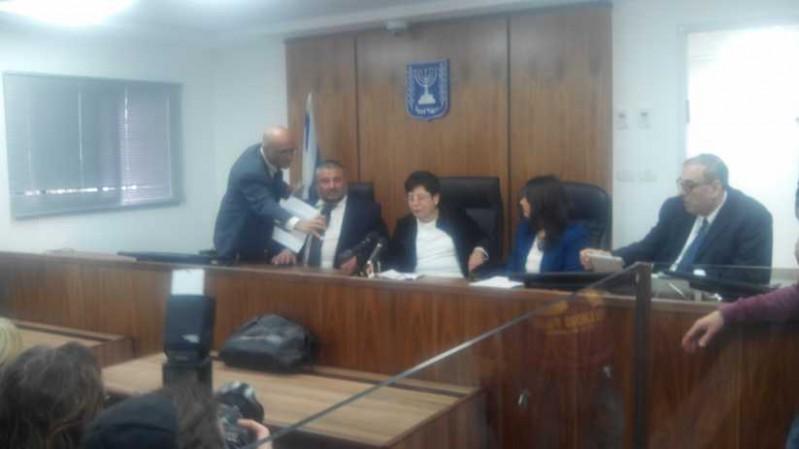 נאור, שקד ואבוטבול בפתיחת בית משפט המקומי