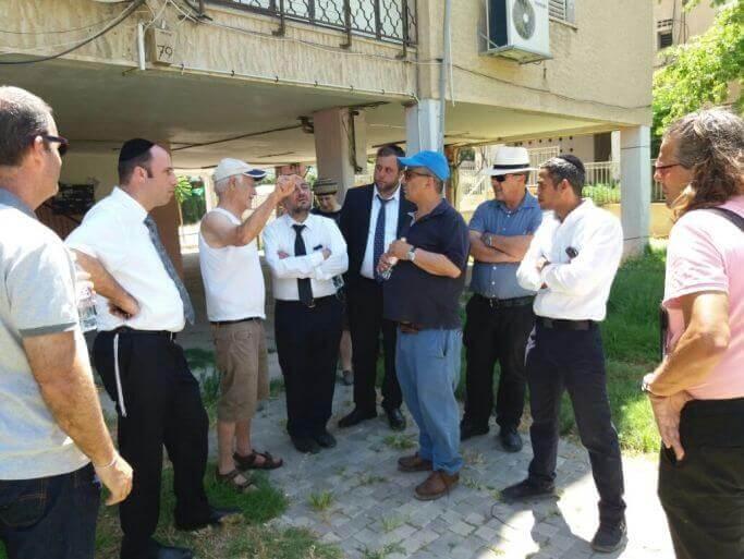 ראשי העיר יצאו לסיור למידה במטרונית בחיפה והקריות