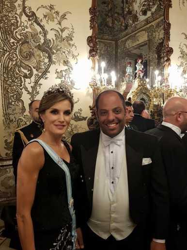 הנציג שלנו במשלחת הנשיא לספרד