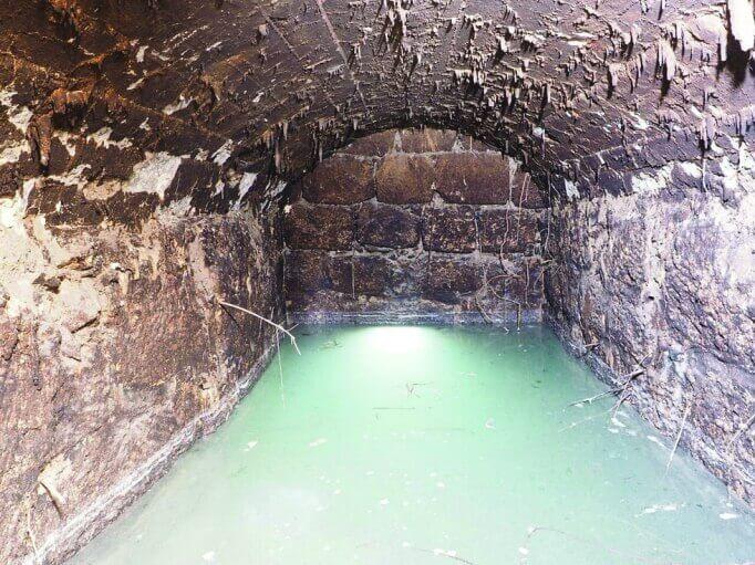 נחשפה ליד בית שמש מערכת מים מהתקופה העותומנית