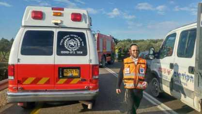 מתנדב זק״א נהרג בתאונה סמוך לפדואל
