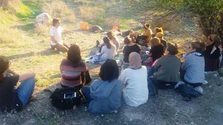 בשבילי הטבע – חינוך סביבתי חוץ כיתתי- בגני הילדים