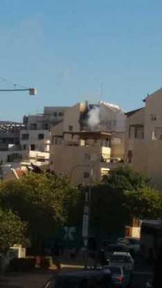 ברח הדולב עלה בית באש- אין נפגעים