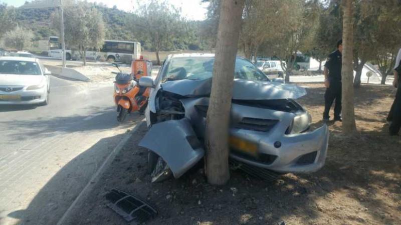 תאונה לא מזירת האירוע צילום: דוברות הצלה
