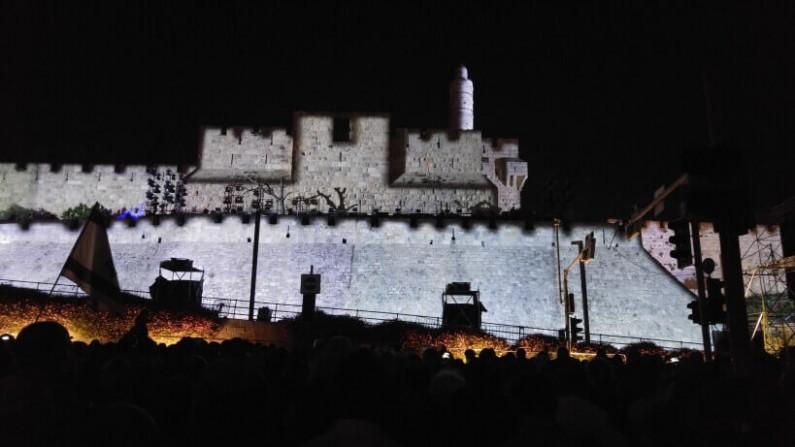 חגיגה  של אורות והתרגשות בירושלים