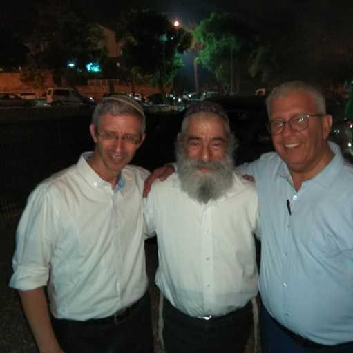 חיים בן מרגי הממונה על מורשת ישראל עם אריאל זילבר