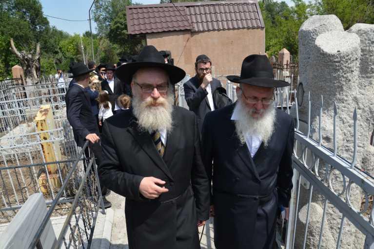 הרב ויינר עם הרב  אלעזר הכהן