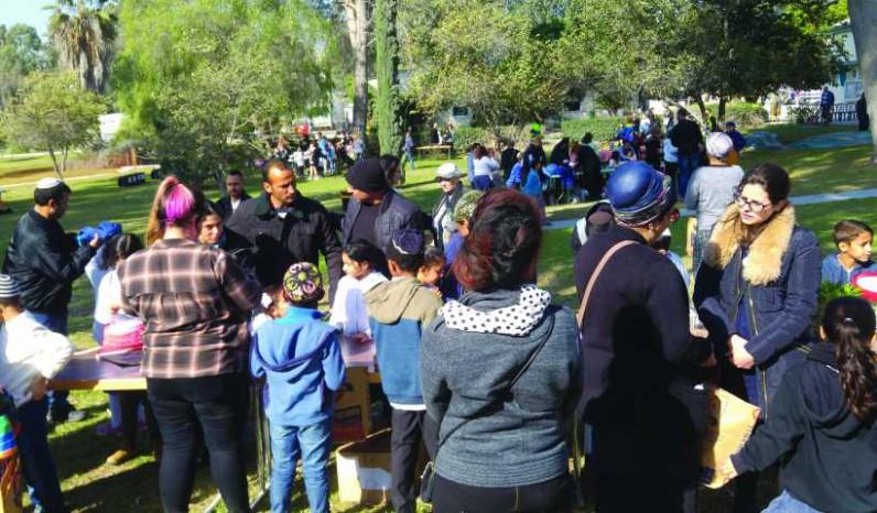 פעילות קהילתית במפעל המלט
