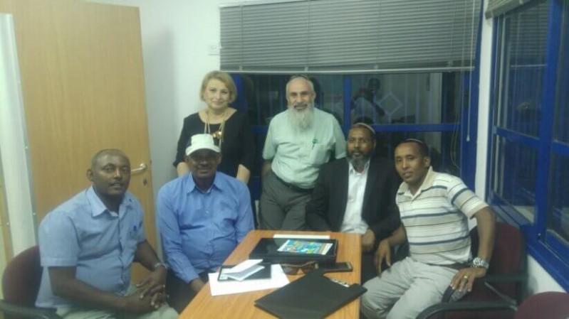 ועדת ההיגוי החדשה של בני העליה מאתיופיה