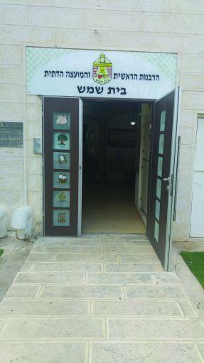 איך נקבעו נציגי בתי הכנסת לבחירת הרב בבית שמש?