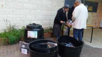 תושבי בית שמש ממשיכים להפריד פסולת אורגנית ולהכין קומפוסט