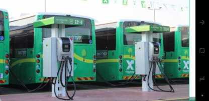 חלק ממערך התחבורה הציבורית בבית שמש הולך לעבור לאוטובוסים חשמליים