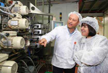 """ראש העיר בית שמש ד""""ר עליזה בלוך ביקרה במפעל """"גילרו"""""""