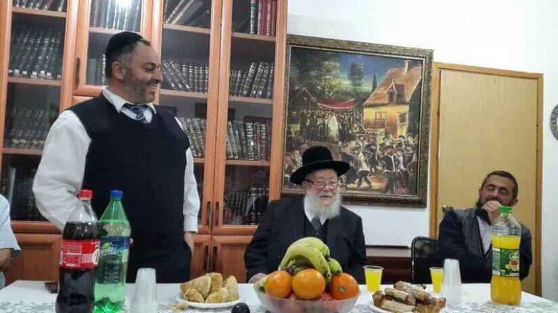 הרב ביטון עם ראש המועצה הדתית