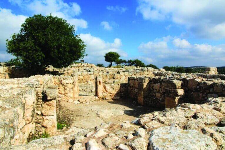 """האתר כפי שנחשף צילום: רשות העתיקות יח""""צ"""