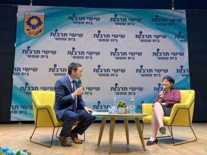 """יו""""ר הבית היהודי בבית שמש נגד הרב אבינר: """"מנהיגות נשים אפשרית"""""""