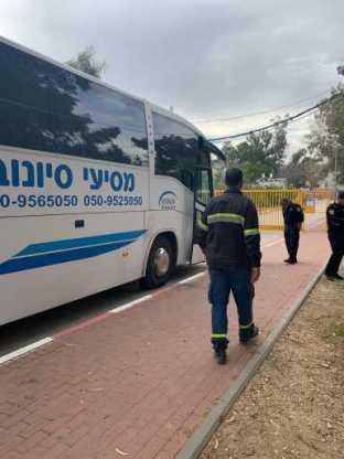 עובדי מלט בית שמש הובאו לתחנת המשטרה
